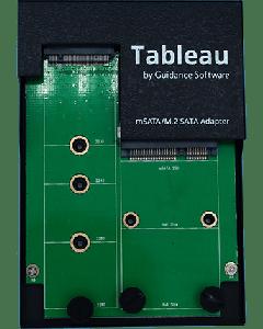 Tableau mSATA + M.2 SATA SSD Adapter